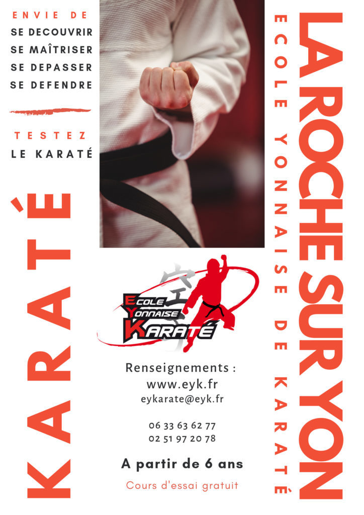 Flyer Ecole Yonnaise de Karaté